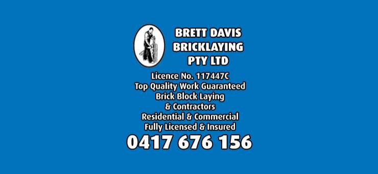 Brett Davis Bricklaying Kincumber Central Coast Region - NSW | OBZ