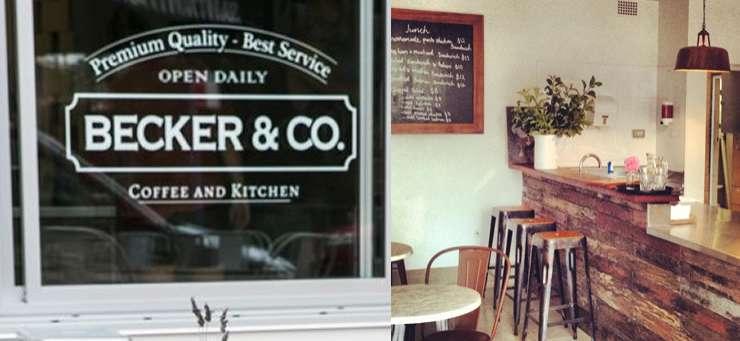 Becker & Co Cafe Avoca Beach Central Coast Region - NSW | OBZ