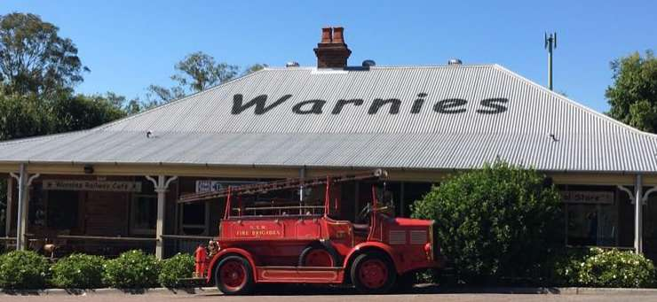 Warnies Railway Cafe Warnervale Central Coast Region - NSW | OBZ