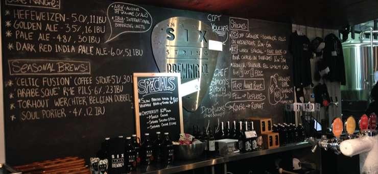 Six String Brewery Erina Central Coast Region - NSW | OBZ